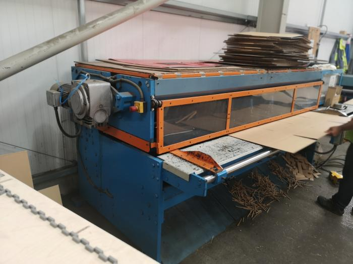 2500MM KIRBY ECCENTRIC SLOTTER