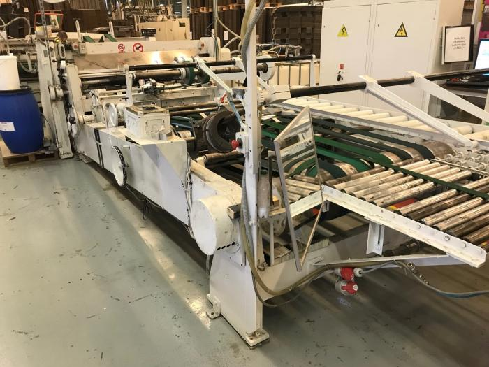 2900MM EMBA FOLDER GLUER